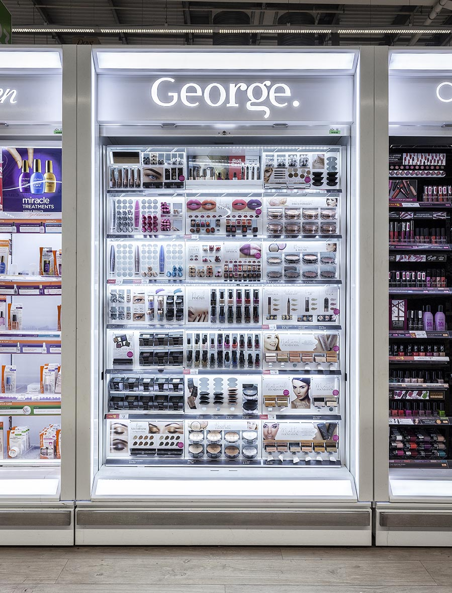 Cosmetics Display In-store